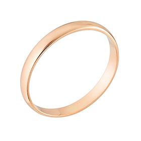 14k / 18k 1g整数シンプルリング戒指