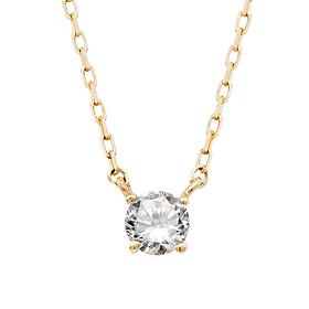 "<b><font color=""008997"" >[第2部近代感情]</font></b> <br> 14K / 18Kクラウン天然ダイヤモンド一体型ネックレス"