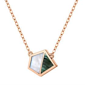 14K / 18K海がプレゼントした天然真珠色のネックレス