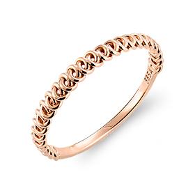 14K / 18Kブダペスト链条戒指